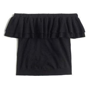 J. Crew Off-The-Shoulder Sweater Blouse Strapless